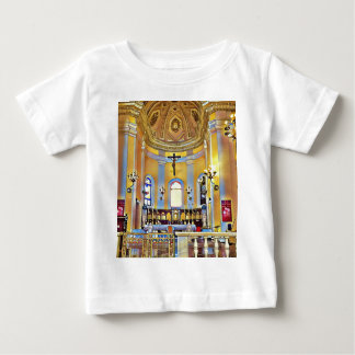 Beautiful Old San Juan Artistic Sanctuary Baby T-Shirt