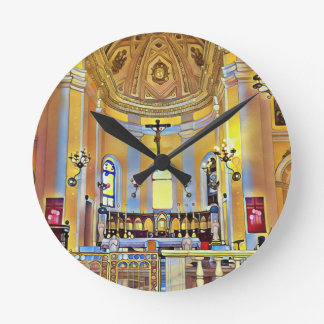 Beautiful Old San Juan Artistic Sanctuary Clocks