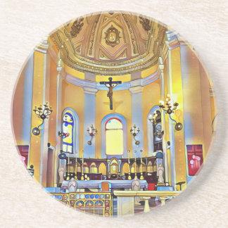 Beautiful Old San Juan Artistic Sanctuary Coaster