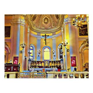 Beautiful Old San Juan Artistic Sanctuary Postcard
