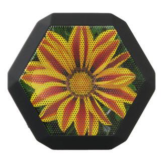 Beautiful Orange Sun Flower Photo Black Bluetooth Speaker