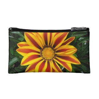 Beautiful Orange Sun Flower Photo Cosmetic Bag