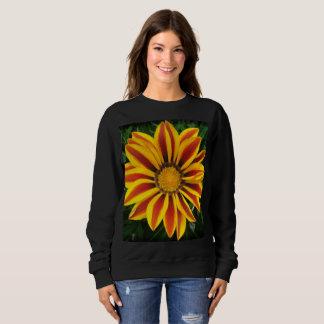 Beautiful Orange Sun Flower Photo Sweatshirt
