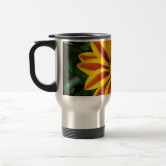 Beautiful Orange Sun Flower Photo Travel Mug