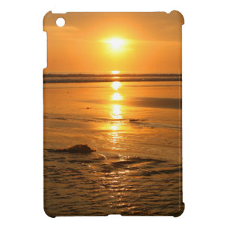 Beautiful orange sunset at the beach in Bali iPad Mini Cover