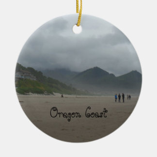 Beautiful Oregon Coast Cannon Beach Ornament