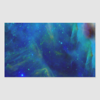 Beautiful Orion Nebula Rectangular Sticker