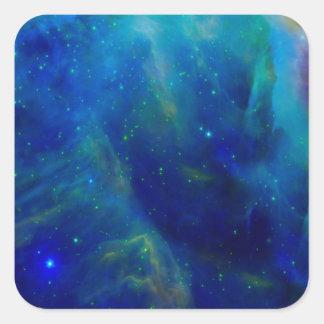 Beautiful Orion Nebula Square Sticker