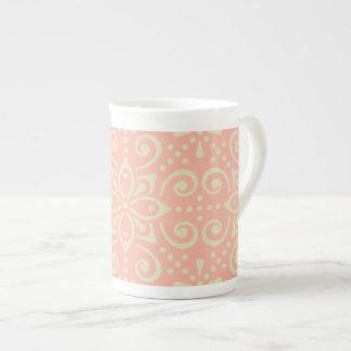 Beautiful Ornamental BoHo Kaleidoscopic Chic Style Tea Cup
