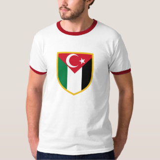 Beautiful Palestine & Turkiye Flag T-Shirt