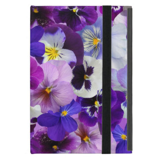 Beautiful Pansies Spring Flowers, iPad Mini Case
