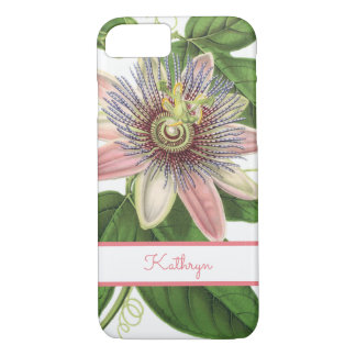 Beautiful Passion Flower iPhone 8/7 Case