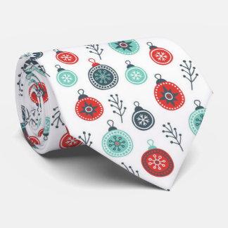 Beautiful Pastel Christmas Hanging Balls and Pine Tie