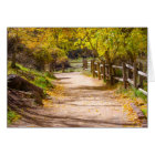 Beautiful Path Blank Greeting Card