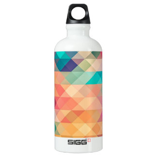 beautiful pattern fashion style rich looks colours water bottle