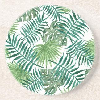 beautiful pattern fashion style rich looks  green coaster