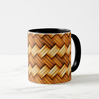 beautiful pattern wood fashion style rich looks mug