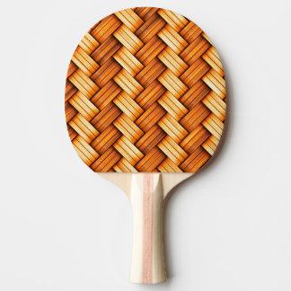 beautiful pattern wood fashion style rich looks ping pong paddle