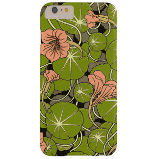 Beautiful Peach Water Lily Pattern iPhone 6/6Plus Barely There iPhone 6 Plus Case