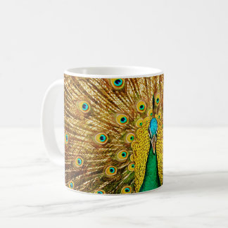 Beautiful Peacock Coffee Mug