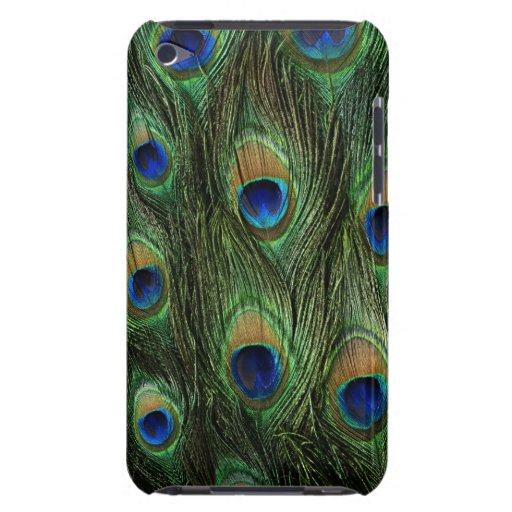 Beautiful Peacock Feathers iPod Touch Cases
