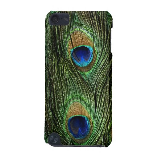 Beautiful Peacock Feathers iPod Touch 5G Case