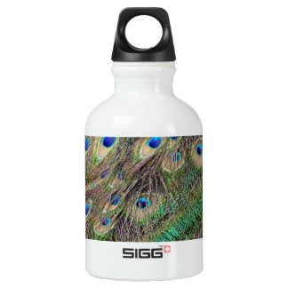 Beautiful Peacock Feathers SIGG Traveller 0.3L Water Bottle
