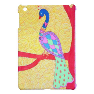Beautiful Peacock iPad Mini Cases