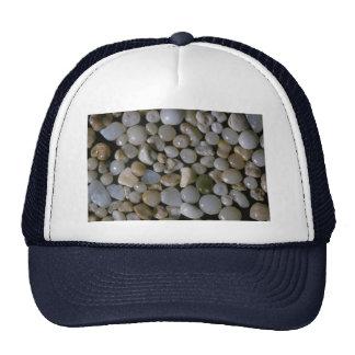 Beautiful Pebbles from Sunset Beach, Oahu, Hawaii Mesh Hats