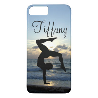 BEAUTIFUL PERSONALIZED GYMNASTICS PHONE CASE