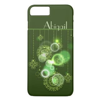 Beautiful Personalized Irish Shamrock Design iPhone 8 Plus/7 Plus Case