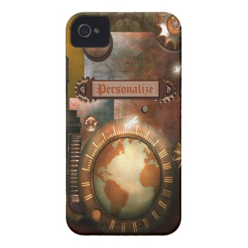 Beautiful Personalized Steampunk BlackBerry Bold Case-Mate Blackberry Case