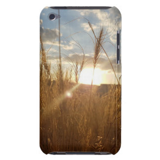 Beautiful Photo of a Sunset over a Wheat Field Barely There iPod Case