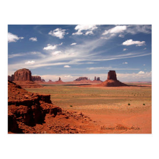 Beautiful Photo of Monument Valley in Arizona Postcard
