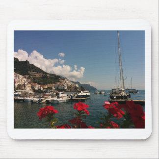 Beautiful Photograph of the Amalfi Coast, Italy Mouse Pad