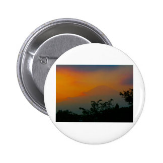 Beautiful Picture of Mt Fuji in Japan Pinback Buttons