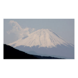 Beautiful Picture of Mt. Fuji in Japan Business Cards