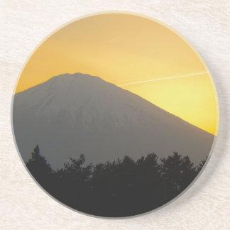 Beautiful Picture of Mt. Fuji in Japan Coaster