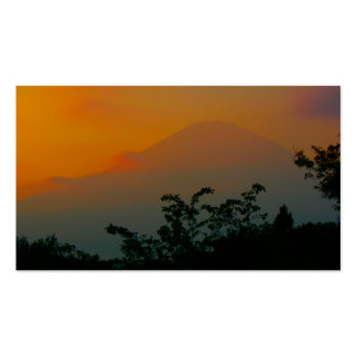 Beautiful Picture of Mt. Fuji in Japan Pack Of Standard Business Cards