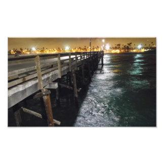 Beautiful Pier View Art Photo