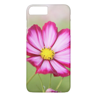 Beautiful pink cosmos flower iPhone 7 plus case