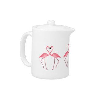 Beautiful Pink Flamingos Love
