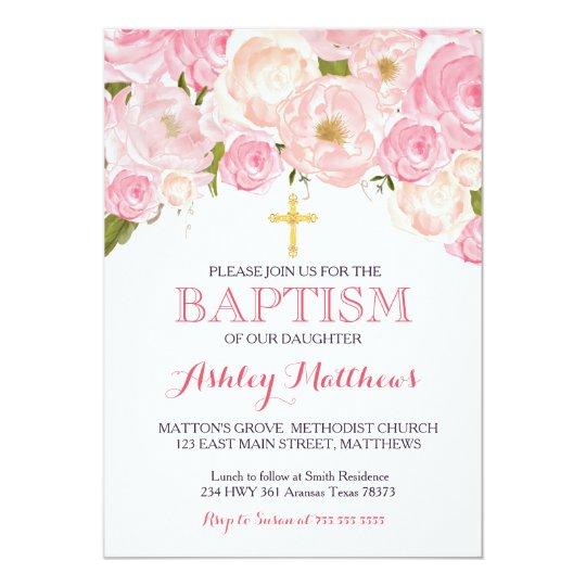 baptism invites