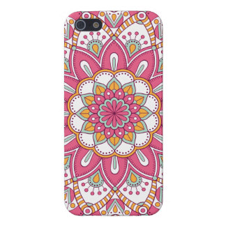 Beautiful pink Flower Design iPhone 5/5S Cases