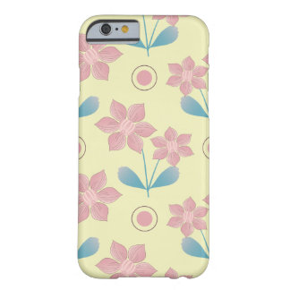 Beautiful pink Flowers Barely There iPhone 6 Case
