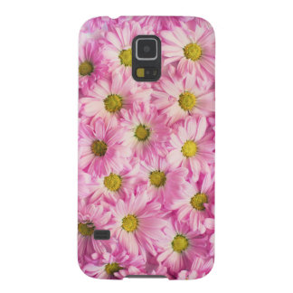 Beautiful Pink Flowers Case For Galaxy S5