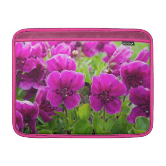 Beautiful pink flowers sleeve for MacBook air