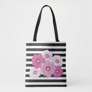 Beautiful Pink Flowers Tote Bag for Mom