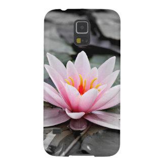 Beautiful Pink Lotus Flower Waterlily Zen Art Galaxy S5 Cover