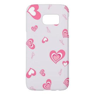 beautiful pink love hearts art